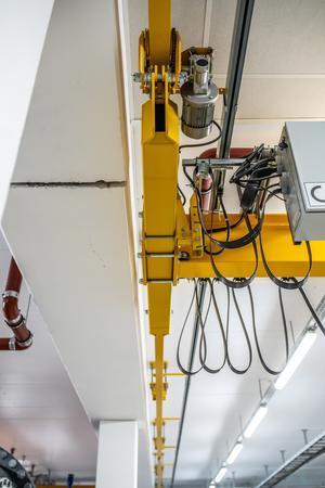 Frekvensstyrt TKS kjettingtalje i rustfri bro og med rustfrie løpekatter